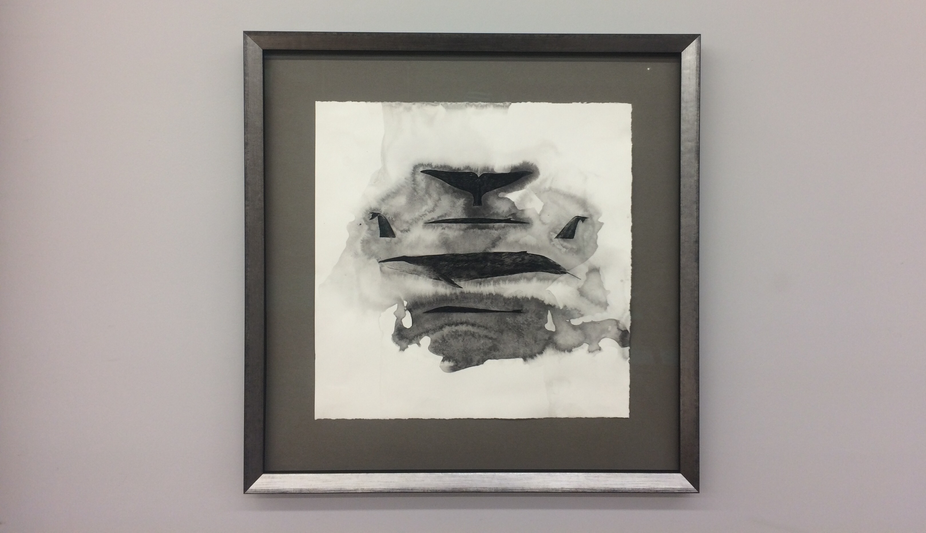 Artist-Natasha-van-Netten-whale-2-prestige-picture-framing-etcetera-victoria-bc